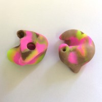 Green, Pink and Brown Camouflage NoiseBreakers